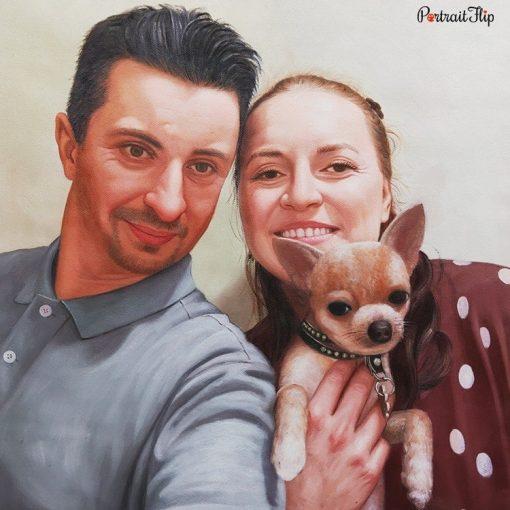 People & Pet Acrylic Portraits