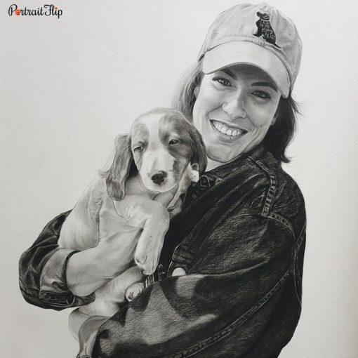 People & Pet Pencil Portraits