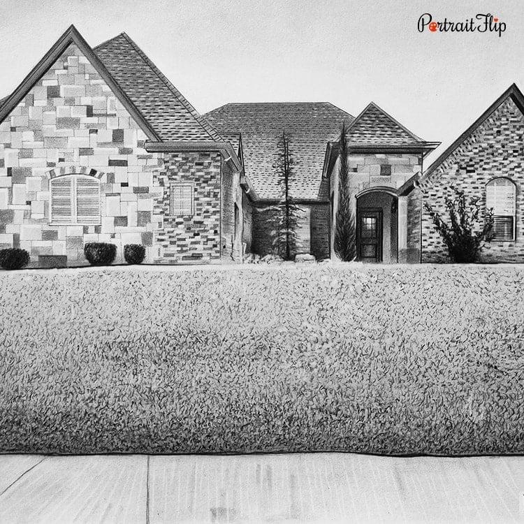 House Pencil Portraits