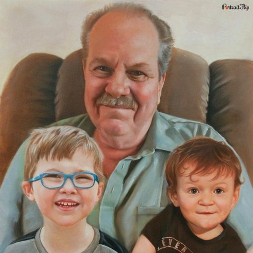 Compilation Oil Portraits