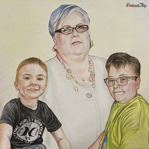 Bad Photos To Colored Pencil Portraits