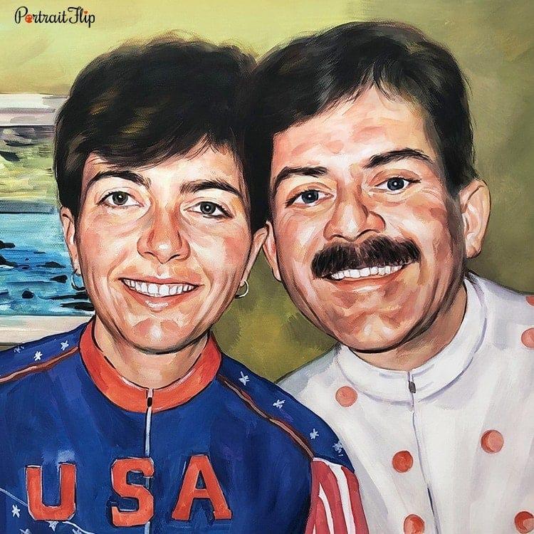 Family Watercolor Portraits
