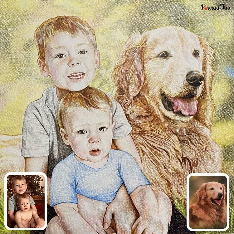 Colored Pencil Sketch Gallery