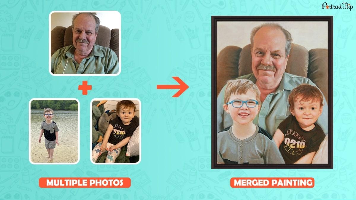 combine multiple images