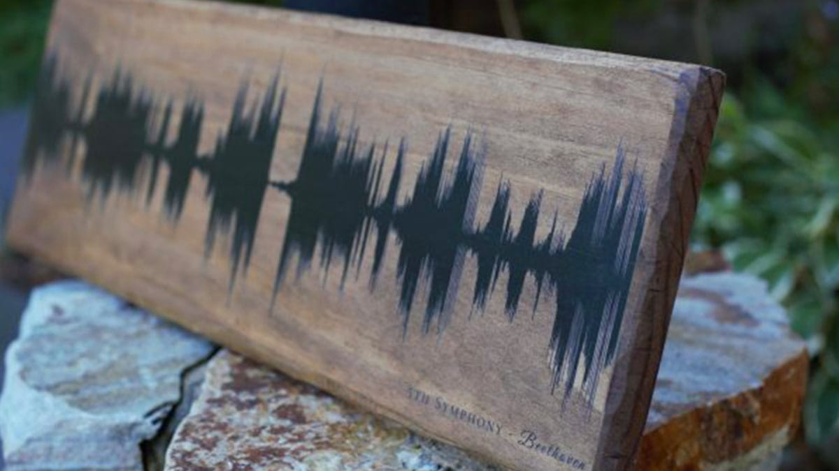 Personalized Sound Wave Print – Everyone