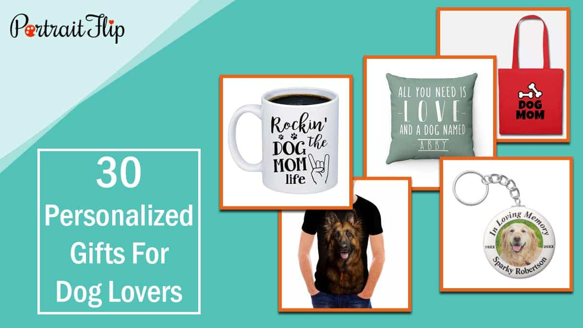30 personalized gifts for dog lovers