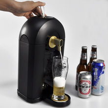 A customized beer dispenser