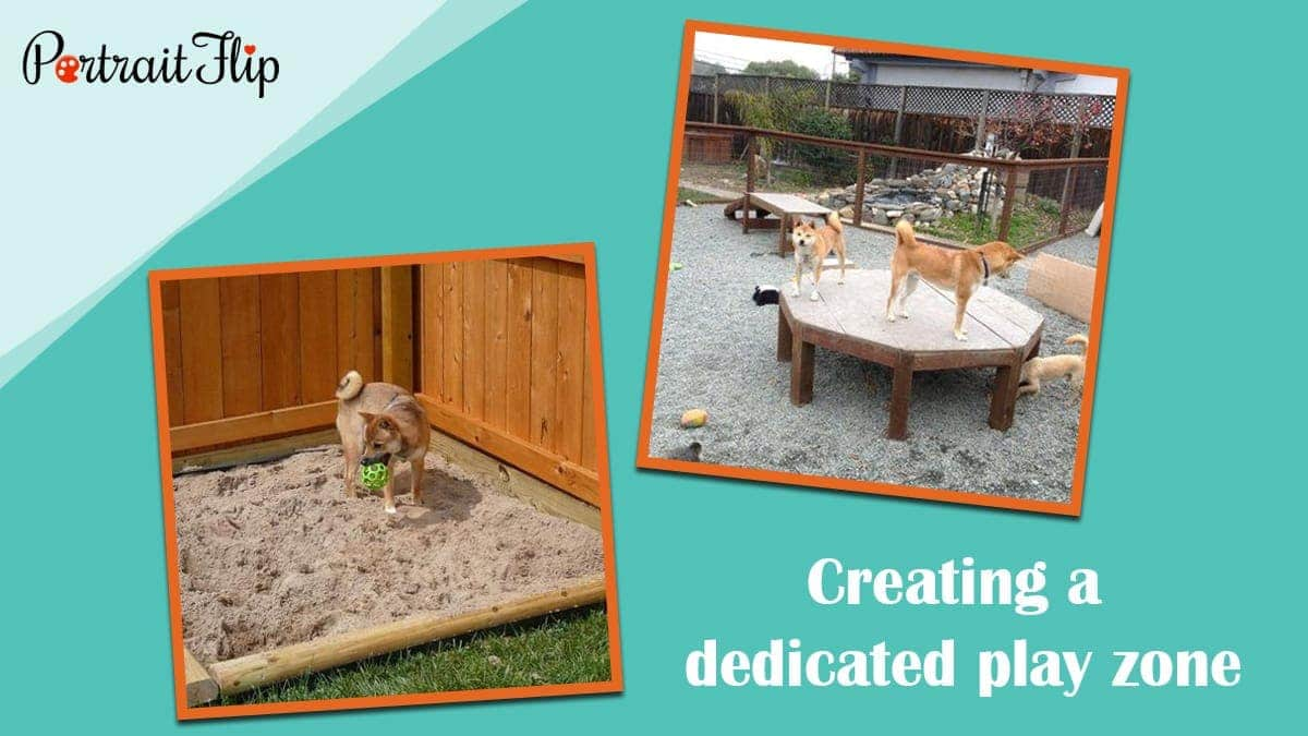 Creating a dedicated play zone