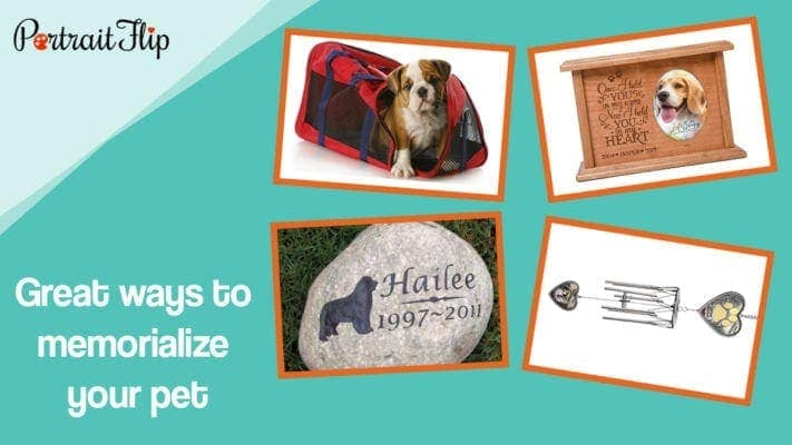 Great ways to memorialize your pet
