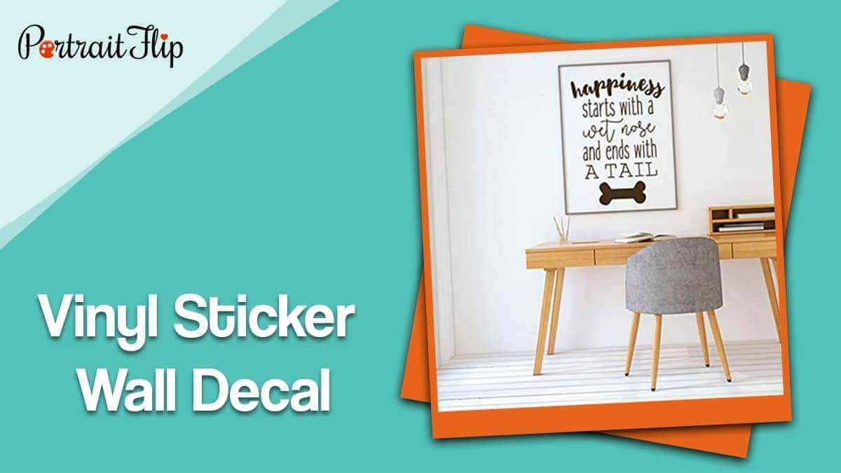 Vinyl sticker wall decal