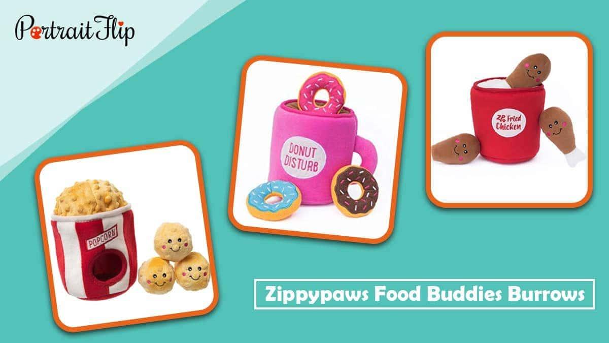 Zippypaws food buddies burrows