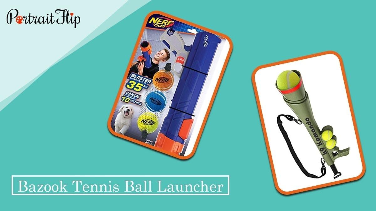 Bazook tennis ball launcher