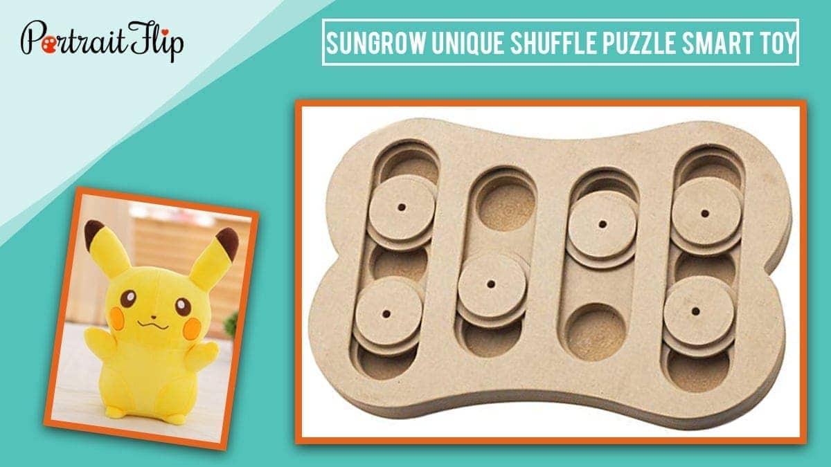 Bungalow unique shuffle puggle best toy