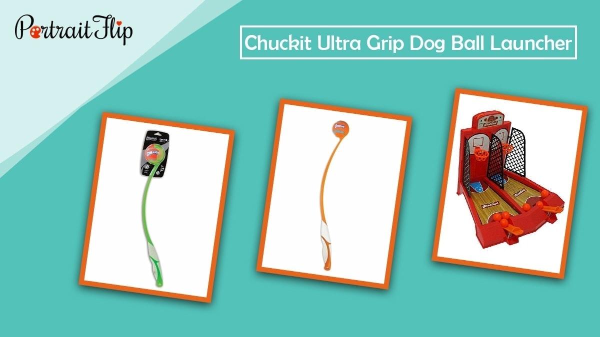 Chuckit grip dog ball launcher