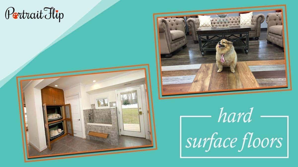 Hard surface floors