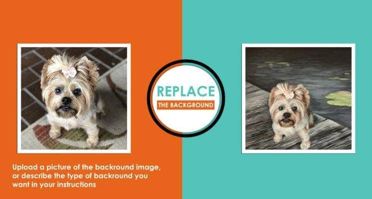 Replace background poster1