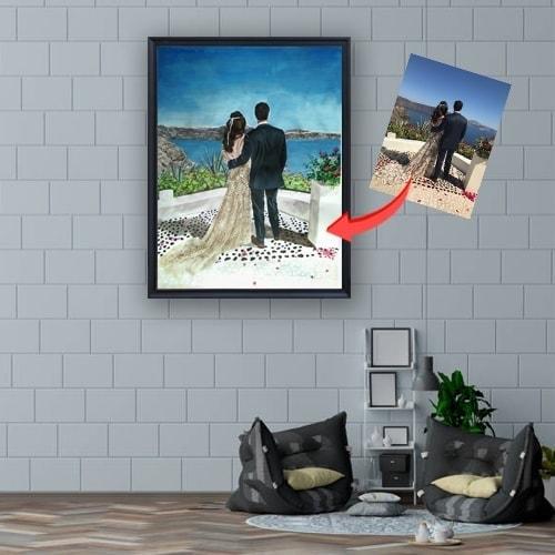 valentine oil painting